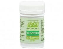 Таблетки Флорастим Железо, 15 шт