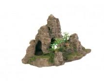 Декорация Trixie Гора с пещерой 22х10,5х12см