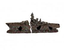Декорация Trixie Разбитый корабль 70см.