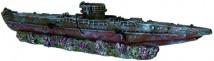 Декорация Trixie Потопленная немецкая субмарина времён ІІ-й мировой войны 51см.