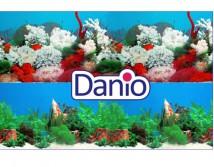 Фон двусторонний Resun, высота 30 см (цена за 10см), растения и морской пейзаж