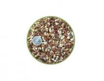 Грунт Nechay ZOO  розово-белый мелкий 2-5мм, кварцит и мрамор 10 кг.
