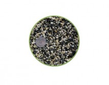 Грунт Nechay ZOO  черно-белый мелкий 2-5мм, базальт и мрамор 10 кг.