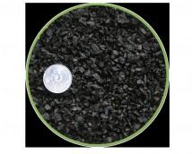 Грунт Nechay ZOO черный мелкий 2-5мм, базальт 10 кг.