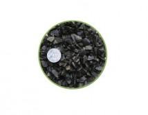 Грунт Nechay ZOO черный средний 5-10мм, базальт 10 кг.