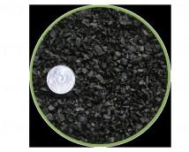 Грунт Nechay ZOO черный мелкий 2-5мм, базальт 2 кг.