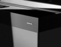 Аквариум Aquael Glossy 100 черный, прямоугольный, 215л, 2x18 LED