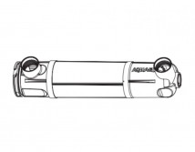 Корпус к стерелизатору Aquael AS и PS 9w