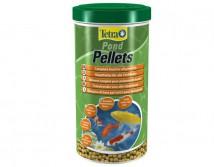 Корм Tetra Pond Pellets medium 1л плавающие шарики