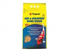 Корм Tropical Koi & Gold Basic Sticks 10л /800гр основной корм