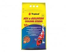 Корм Tropical Koi & Gold Color Sticks 10л /800гр