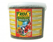 Корм Tropical Koi & Gold Spirulina Sticks 21л/2.5кг