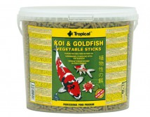 Корм Tropical Koi & Gold Vegetable Sticks 5л /450гр