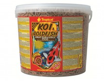 Корм Tropical Koi & Gold Wheat Germ & Garlic Sticks 5л/650гр