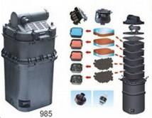 Прудовый набор Jebo 985, до 13 000л с проточным фильтром, насосом и UV 24 Вт