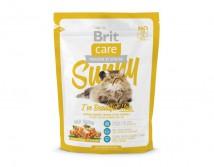 Сухой корм Brit Care Cat 0,4 кг Sunny I have Beautiful Hair для здоровья кожи и шерсти