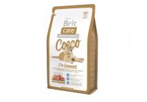Сухой корм Brit Care Cat 2 кг Cocco I am Gourmand для привередливых кошек