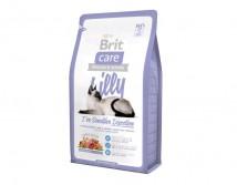 Сухой корм Brit Care Cat 2 кг Lilly I have Sensitive Digestion для кошек с чувствительным пищеварением