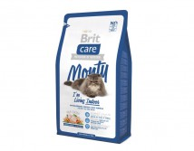Сухой корм Brit Care Cat 2 кг Monty I am Living Indoor для кошек живущих в помещении