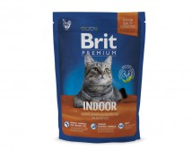 Сухой корм Brit Premium Cat Indoor 300 г для живущих в помещении