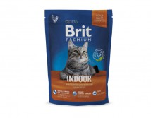 Сухой корм Brit Premium Cat Indoor 800 г для живущих в помещении