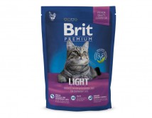 Сухой корм Brit Premium Cat Light 800 г для кошек c избыточным весом
