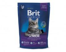 Сухой корм Brit Premium Cat Senior 1,5 кг для пожилых кошек