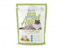 Сухой корм Brit Care Cat 0,4 кг Angel I am Delighted Senior для пожилых кошек