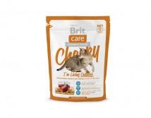 Сухой корм Brit Care Cat 0,4 кг Cheeky I am Living Outdoor для кошек живущих на улице