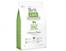 Сухой корм Brit Care GF Adult Large Breed Salmon & Potato 3 kg (д/собак весом от 25 кг)