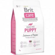 Сухой корм Brit Care GF Puppy Salmon & Potato 3 kg (для щенков)