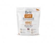 Сухой корм Brit Care Adult Medium Breed Lamb & Rice 1 kg (д/собак весом от 10 до 25 кг)