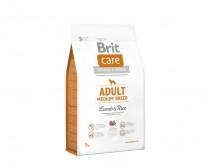 Сухой корм Brit Care Adult Medium Breed Lamb & Rice 3 kg (д/собак весом от 10 до 25 кг)