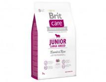 Сухой корм Brit Care Junior Large Breed с ягненком и рисом для щенков крупных и гигантских пород 3 кг