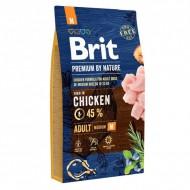 Сухой корм Brit Premium Adult M 8 kg (для взрослых собак средних пород)