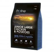 Сухой корм Profine Junior Chicken & Potatoes 3 kg (д/щенков и юниоров крупных пород)