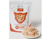 Консервы Brit Care Cat pouch 80г курица и сыр