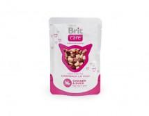 Консервы Brit Care Cat pouch 80г курица и утка