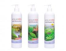 Набор удобрений Aquayer Микро+Макро+Альгицид+СО2 500 мл