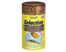 Tetra Selection 4in1 смесь 4-х видов корма для рыб разной среды обитания, 250ml