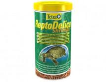 Корм Tetrafauna ReptoDelica Shripms 1L, для всех видов черепах