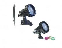 Cветильник прудовый SunSun CQD-120B, галоген, 2 х 20 Вт.