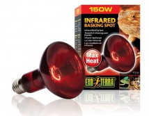 Лампа Hagen Exo Terra Infrared Basking Spot Lamp R30/150W инфракрасная обогревающая