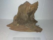 Коряга 008 дуб для аквариума, натуральная и обработанная 30х20х25 см