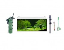 Аквариумный комплект Eheim aquaproLED 180 литров, белый