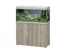 Аквариумный комплект Eheim vivaline LED 180 литров с тумбой, освещение 1x17W, цвет серый дуб