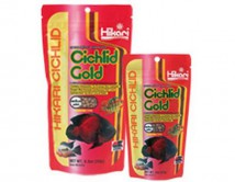 Корм Hikari Cichlid Gold baby 250g, гранулы 1,7-2 мм для улучшения окраса цихлид