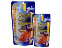 Корм тонущий Hikari Cichlid Gold Sinking mini 100g, гранулы 3-3,4 мм для усиления окраски цихлид