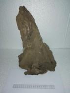 Коряга 013 дуб для аквариума, натуральная и обработанная 26х17х34 см