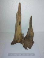 Коряга 026 дуб для аквариума, натуральная и обработанная 21х28х33 см